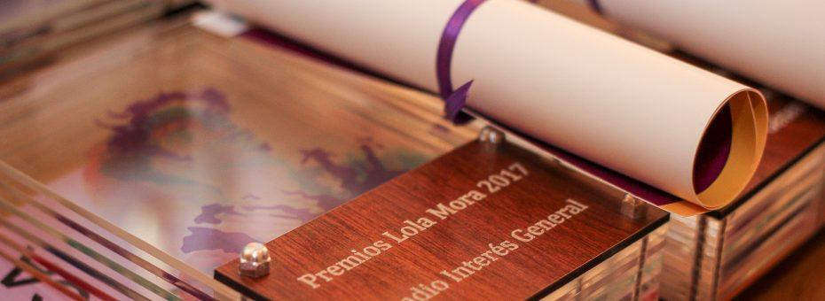 Se entregaron los premios Lola Mora