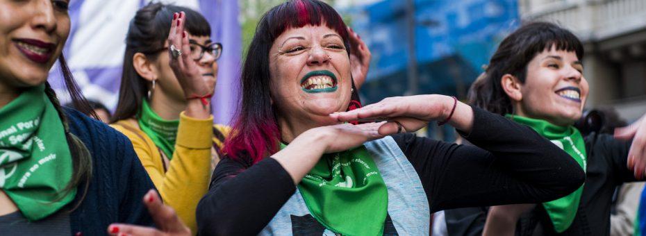 Orgullo: acciones feministas para visibilizar los abortos propios