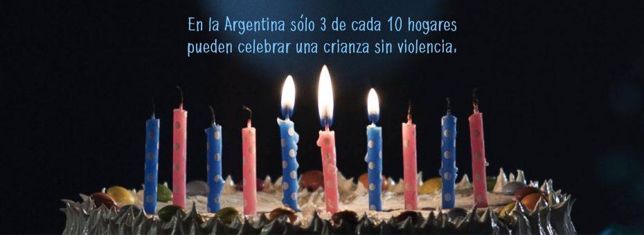 Argentina: sólo 3 de cada 10 hogares puede celebrar una infancia sin violencia