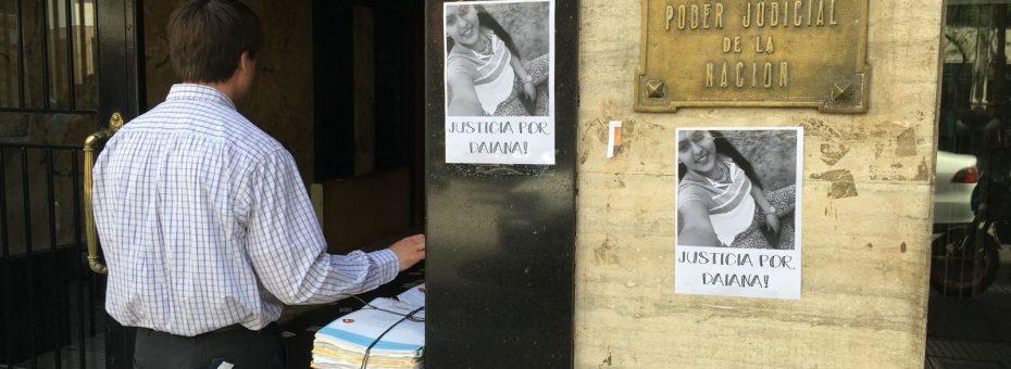 Justicia por el femicidio de Daiana Colque en la villa 31 bis