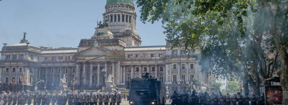 Diciembre de protestas: es mejor que estarse quieto, es mejor que ser un vigilante