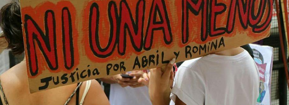 Justicia para Abril y Romi: condenaron al doble femicida