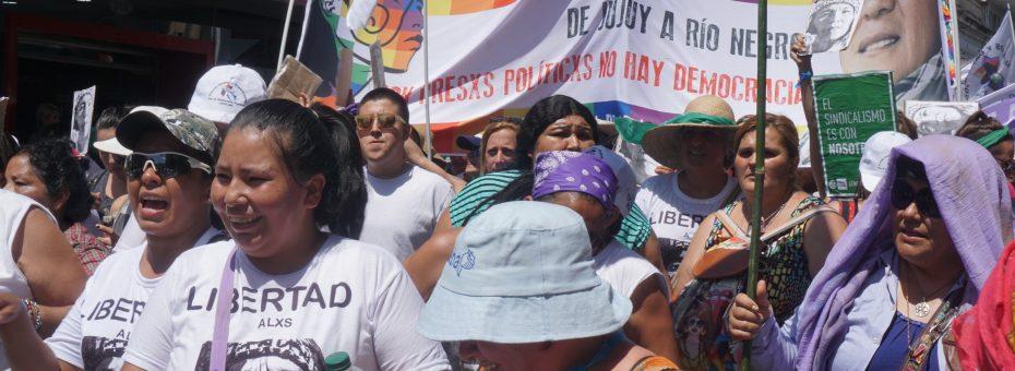 Jallalla Mujeres: histórica marcha y asamblea en Jujuy para exigir libertad a todxs lxs presxs políticos