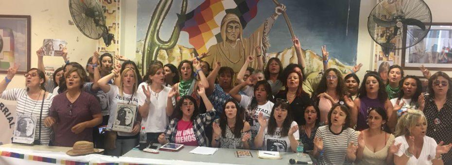 Jallalla Mujeres: cientos de mujeres, lesbianas, travestis y trans llegaron a Jujuy