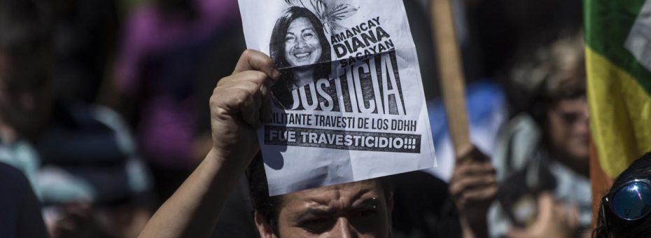 Juicio Diana Sacayán: relato de un mapa del odio en su cuerpo