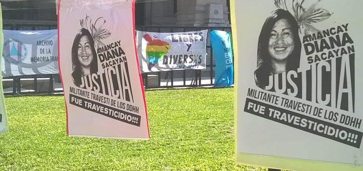 """""""Que haya justicia es también que frenen los travesticidios"""""""