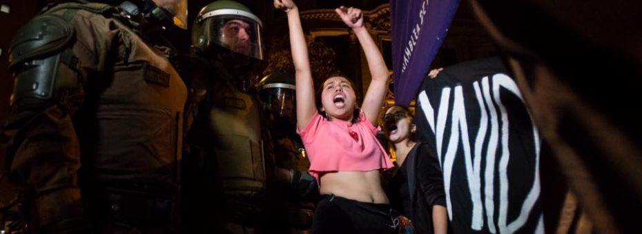 Chile: histórica marcha contra la cultura de la violación