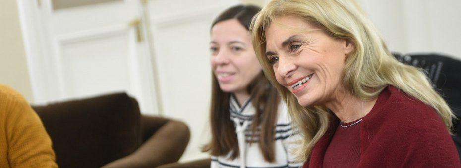 """Laura Montero: """"Me gustaría que Julio Cobos vote a favor de la ley"""""""