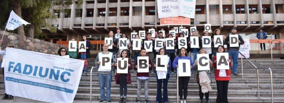 """""""En las universidades hay un paralelismo en el nivel de conflictividad con el 2001"""""""
