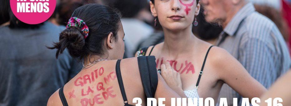 El colectivo Ni Una Menos convocó a marchar el próximo 3 de junio