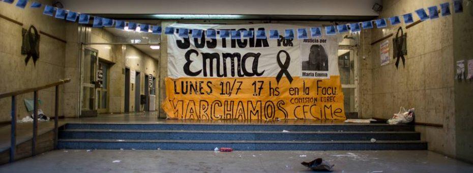 Justicia para Emma: marchar es un brillo