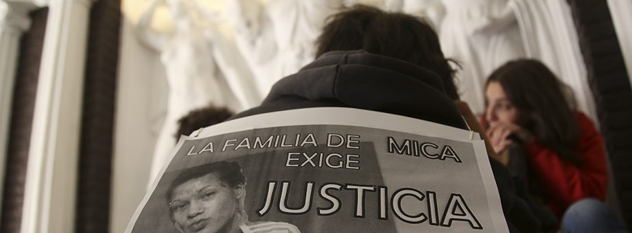 Comenzó el juicio oral y público por el femicidio de Micaela Gaona