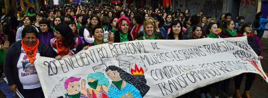 20 años de Encuentros Regionales de Mujeres, Lesbianas, Travestis y Trans