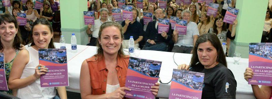 Presentaron un cuadernillo de formación sobre mujeres y sindicalismo