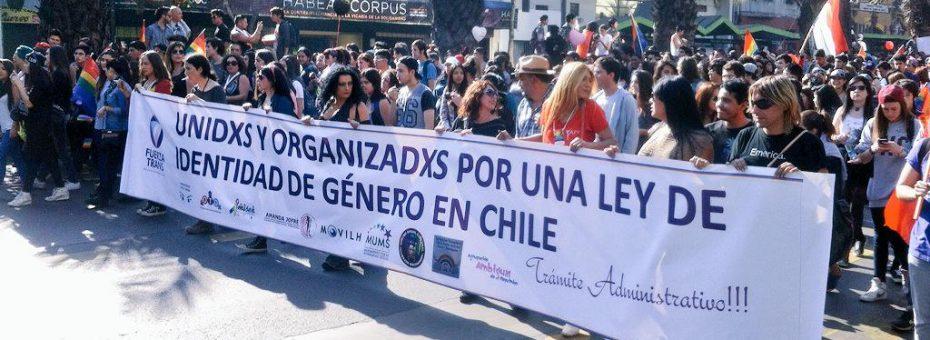 La Cámara de Diputadxs chilena aprobó la ley de Identidad de Género