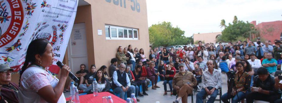 México: accidente durante la caravana de Marichuy