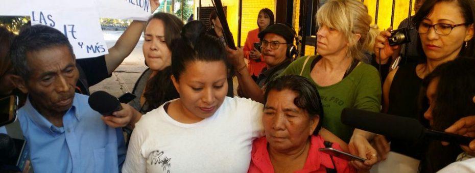 El Salvador: Teodora recuperó la libertad a casi 11 años de su injusta condena