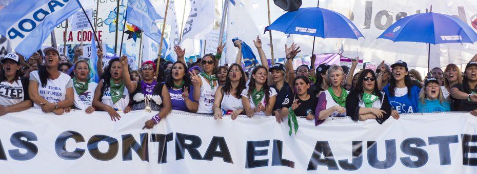 #8M histórico: la marea verde contra el ajuste, por el aborto