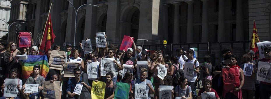 """#JuicioDianaSacayán: """"No tenemos miedo al odio"""""""