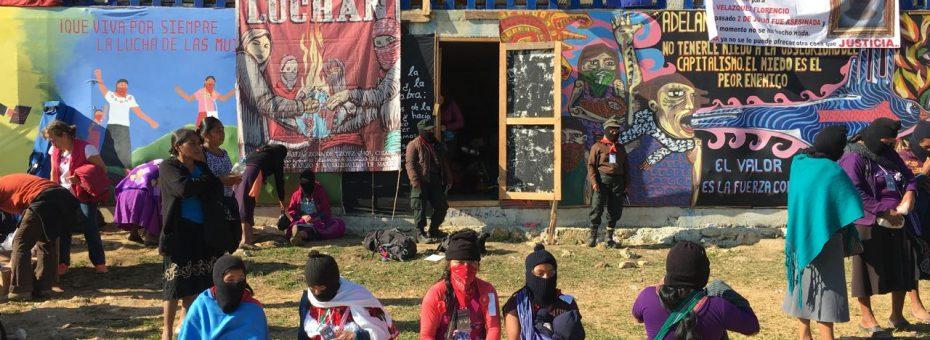"""Zapatistas convocan al 2do Encuentro Internacional de Mujeres que Luchan: """"La violencia contra las mujeres"""""""