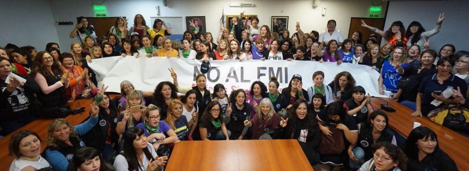 Las mujeres sindicalistas contra la reforma laboral encubierta