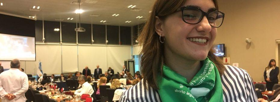 #AbortoLegalYa: la voz de la militancia estudiantil
