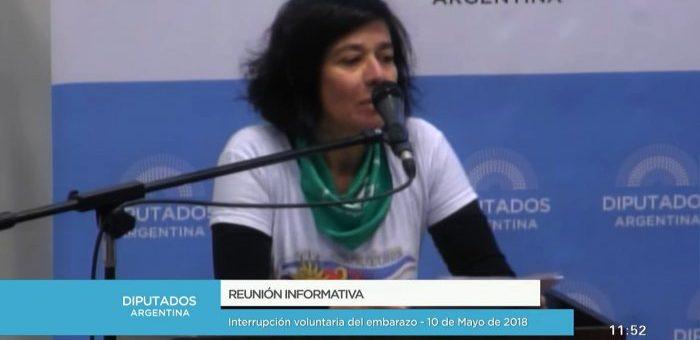 """#AbortoLegalYa: """"El aborto clandestino mata selectivamente, la despenalización del aborto, en cambio, iguala"""""""