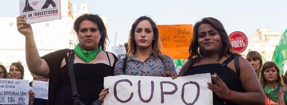Cupo laboral travesti-trans: la ley Diana Sacayán en el Congreso