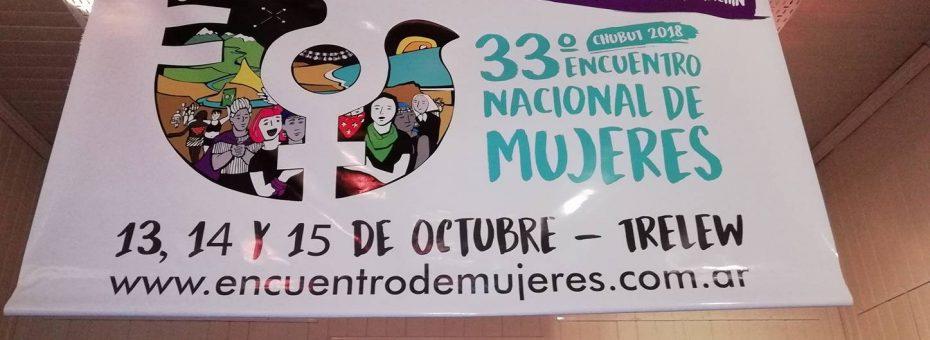 El 33° Encuentro Nacional de Mujeres ya tiene logo oficial