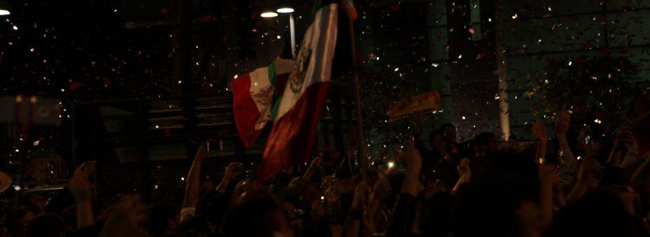 La extrañísima sensación de celebrar algo en el corazón de México