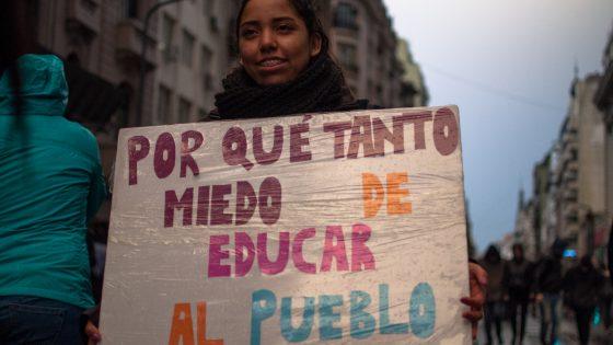 Marchamos por la educación pública