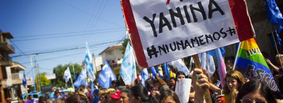 Una movilización para exigir justicia por Yanina: fue femicidio