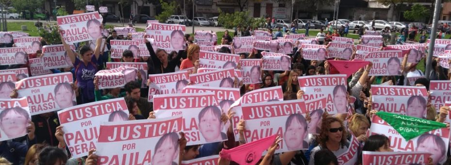 Crimen de Paula Perassi: un mensaje de impunidad