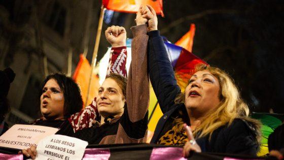 #Orgullo2019 4ta Marcha Plurinacional contra los travesticidios y transfemicidios