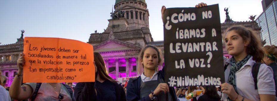 A cuatro años de Ni Una Menos: avances y retrocesos a nivel nacional, CABA, Córdoba y Rosario