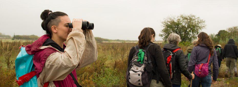 Las Garzas Brujas: Colectiva de Observadoras de Aves Feminista