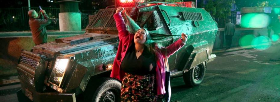 #ChileDespertó: Feministas se suman al paro del 21 de octubre
