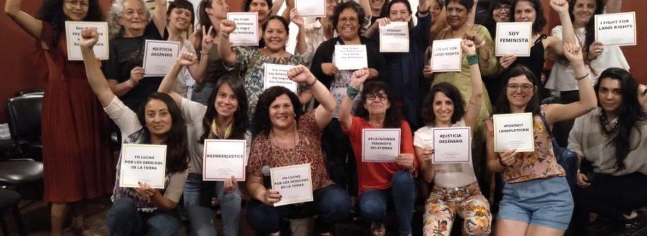 Plataforma Feminista por la Tierra: ni la tierra ni las mujeres somos territorios de conquista