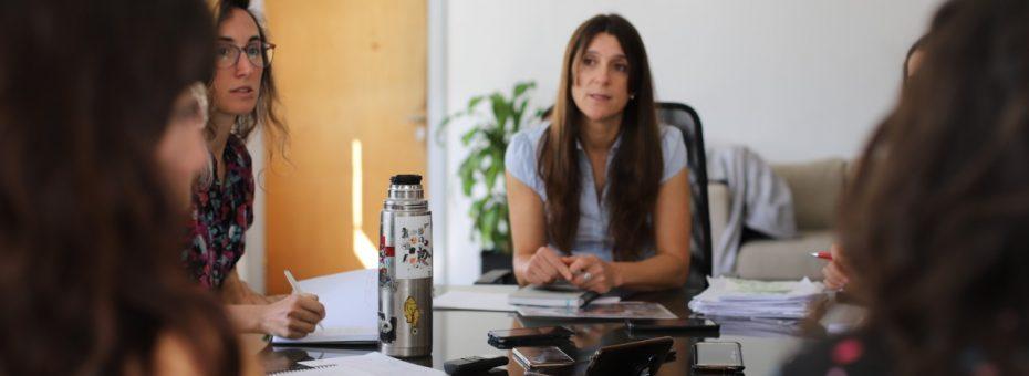 """Inés Arrondo: """"No soy yo sola la que llega, es una lucha de todas"""""""