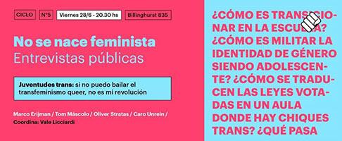 Juventudes trans: si no puedo bailar el transfeminismo queer, no es mi revolución