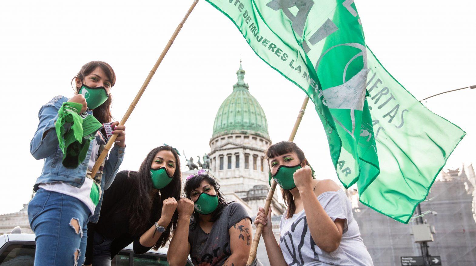 Caravana por #AbortoLegal2020: volvimos a las calles