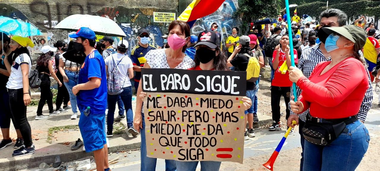 Colombia en Paro nacional: ¿por qué grita ese país? - LatFem