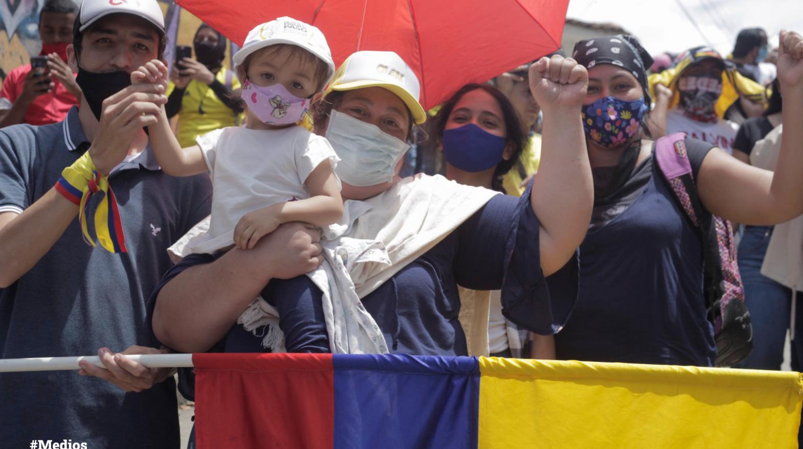 Colombia perdió el miedo, el paro vive