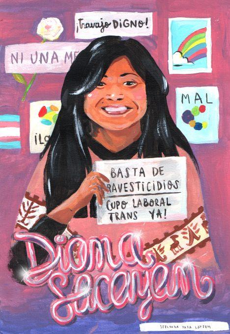 Diana Sacayán: santa patrona del travajo